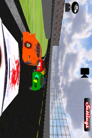 Screenshot Stock Car Racing 3D